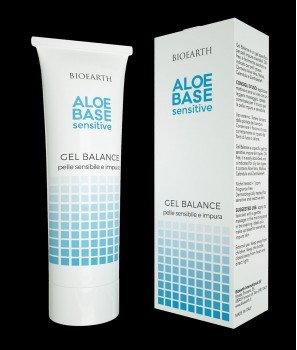 Балансиращ Гел за Проблемна Кожа 50 ml - Aloebase Sensitive Bioearth