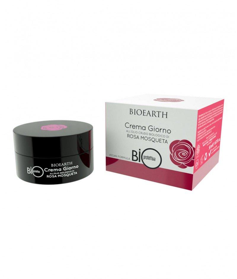 Дневен Крем Био Роза Москуета (Bio Rosa Mosqueta) 50 ml - Bioearth