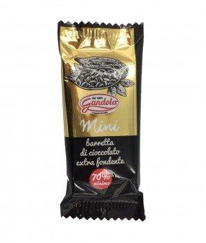 Мини Екстра Тъмен Натурален Шоколад 70% Какао 25 g - Gandola 1964
