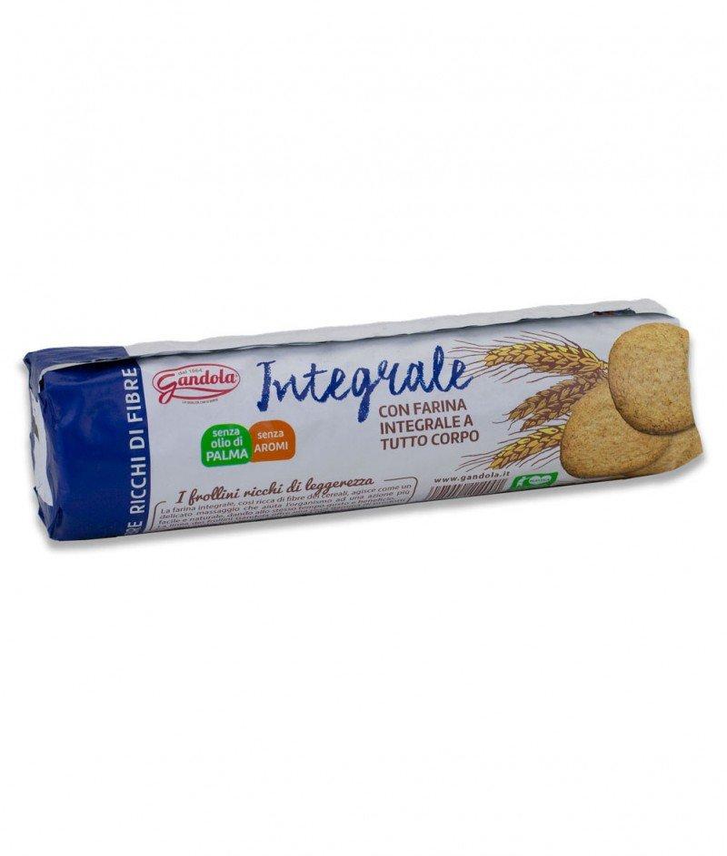 "Пълнозърнести Бисквити ""CerealNatura"" (Без Палмово Масло) 250 g - Gandola 1964"