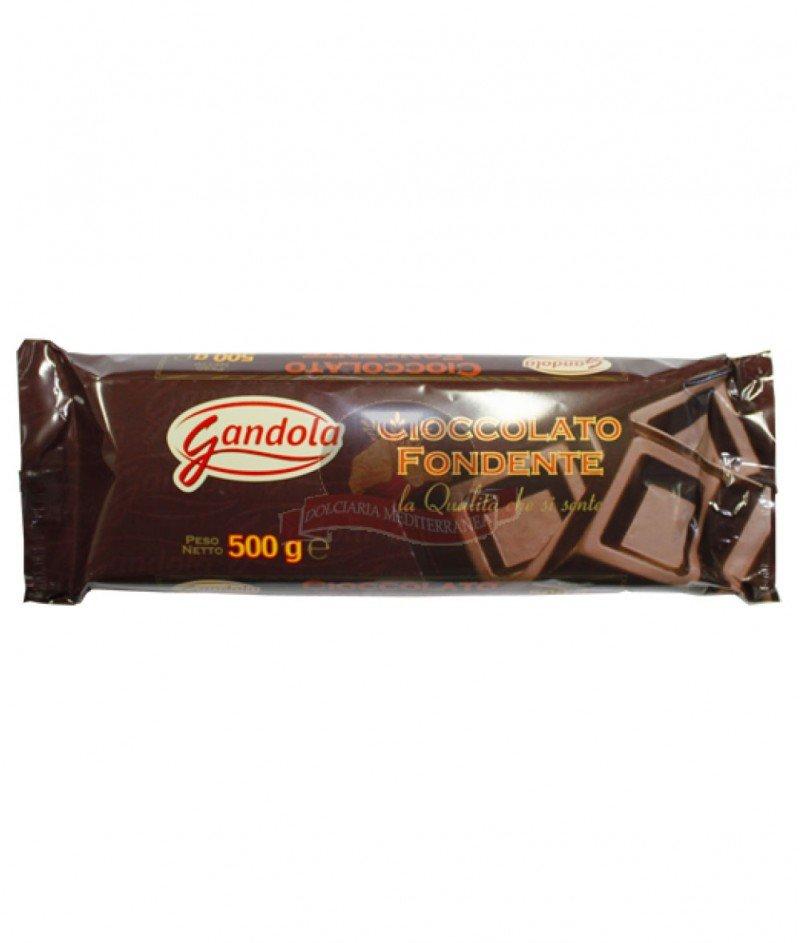 Тъмен Натурален Шоколад 49% Какао 500 g - Gandola 1964