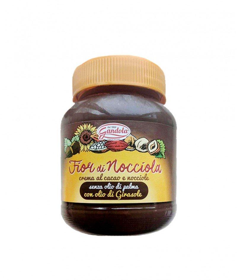 """Течен Шоколад """"Сърце от Лешник"""" (Без Палмово Масло) Gluten Free 400 g - Gandola 1964"""