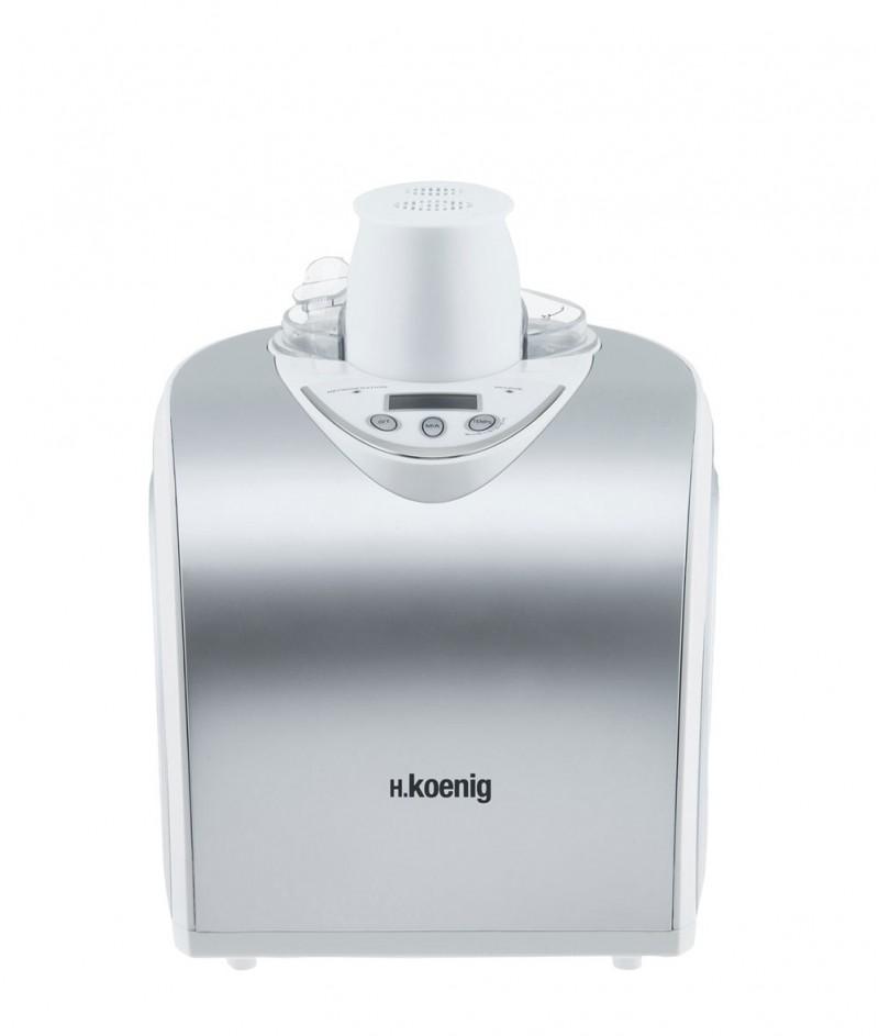 Машина за Сладолед с Компресор H.Koenig – HF180 - Капацитет 1000 ml