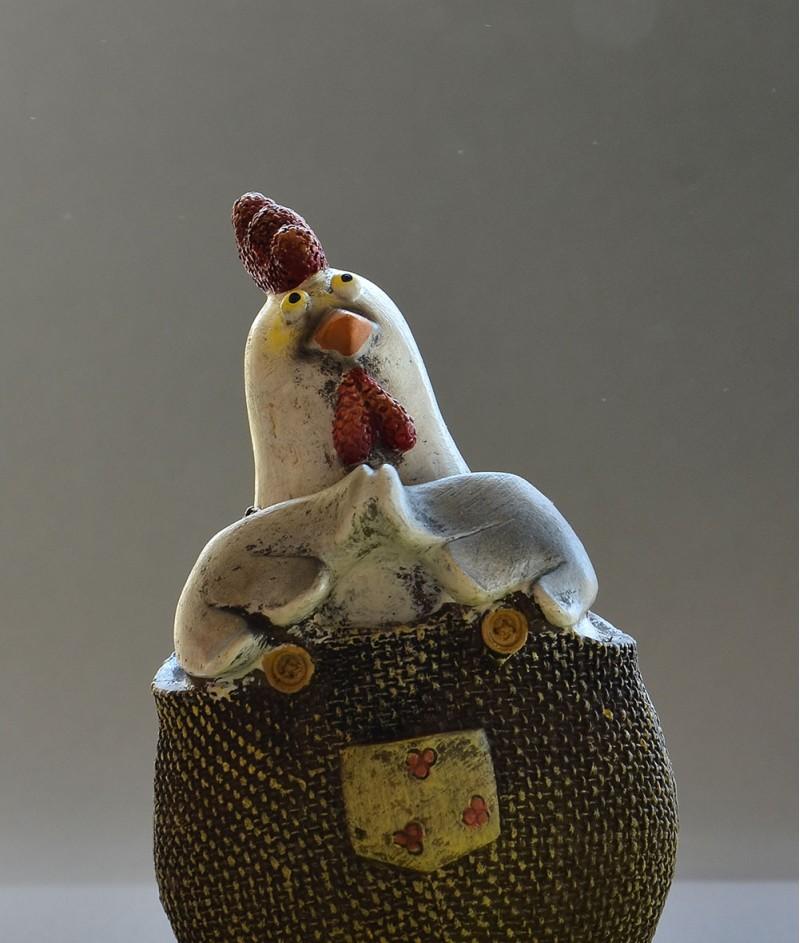 Декоративна Кокошка за Великден - Art From Italy