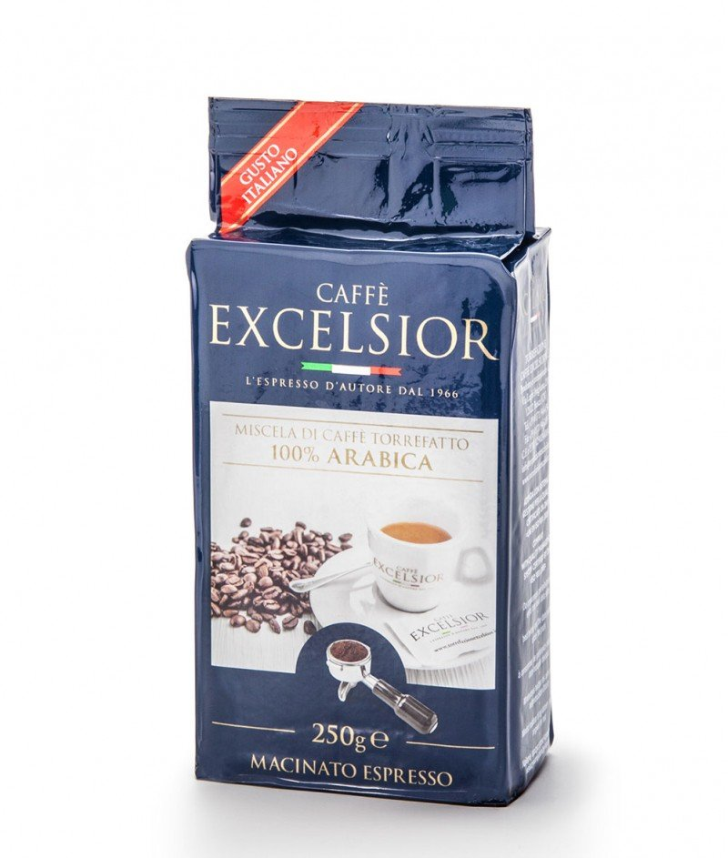 Кафе Excelsior 100% Арабика, Мляно за Еспресо 250 g - Torrefazione Caffè Excelsior 1966