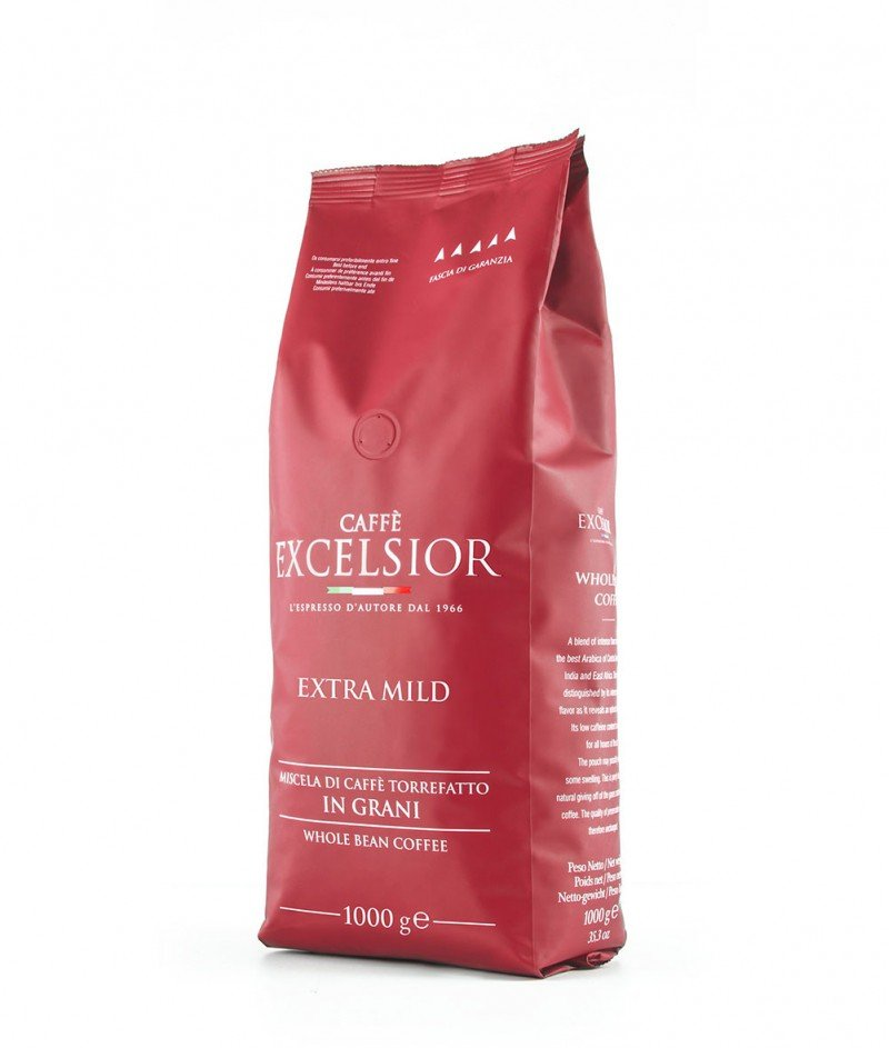 Кафе на Зърна Excelsior Extra Mild 70% Арабика, 30% Робуста 1000 g - Torrefazione Caffè Excelsior 1966