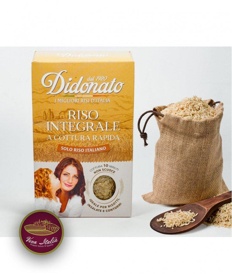 Пълнозърнест Ориз за Бързо Готвене Didonato 1000 g - Riseria Campanini dal 1920