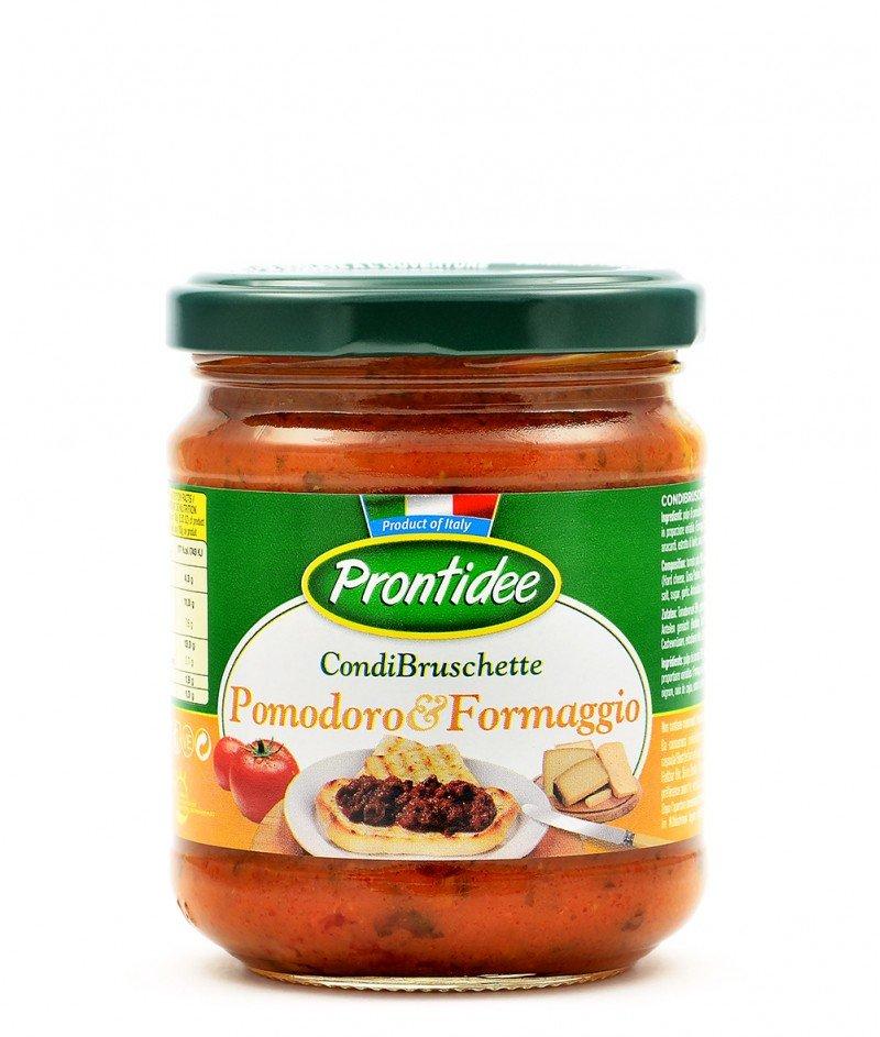 Брускета-сос Домати и Италиански Сирена 180 g