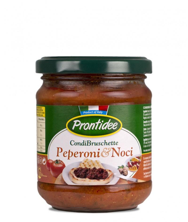Брускета-сос Чушки и Орехи 180 g