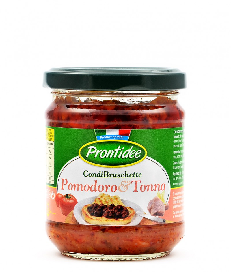Брускета-сос Домати и Риба Тон 180 g