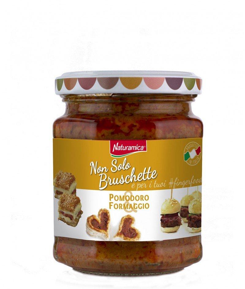 Брускета-сос Домати и Италиански Сирена 190 g - Naturamica