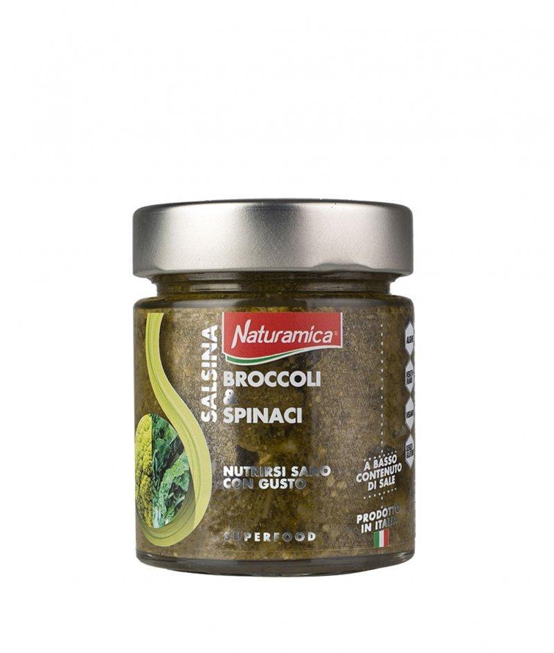 Специален Сос Броколи и Спанак  Линия Супер Храни 140 g - Naturamica