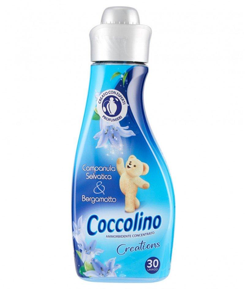 """Концентриран Омекотител Coccolino Creations """"Дива камбанка и Бергамот"""" - 1000ml. - 40 дози"""