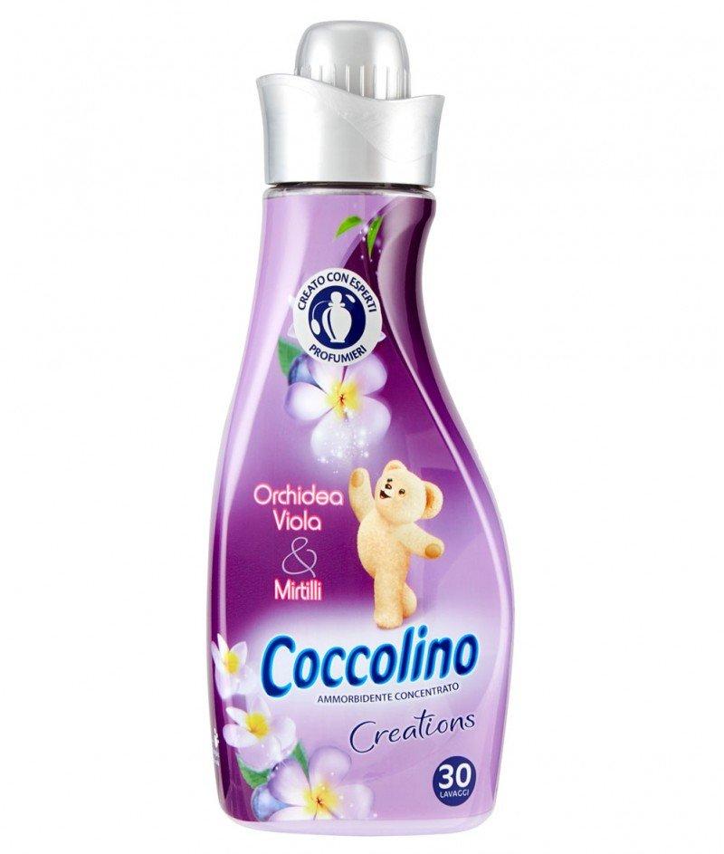 """Концентриран Омекотител Coccolino Creations """"Лилава Орхидея и Боровинки"""" - 1000ml. - 40 дози"""