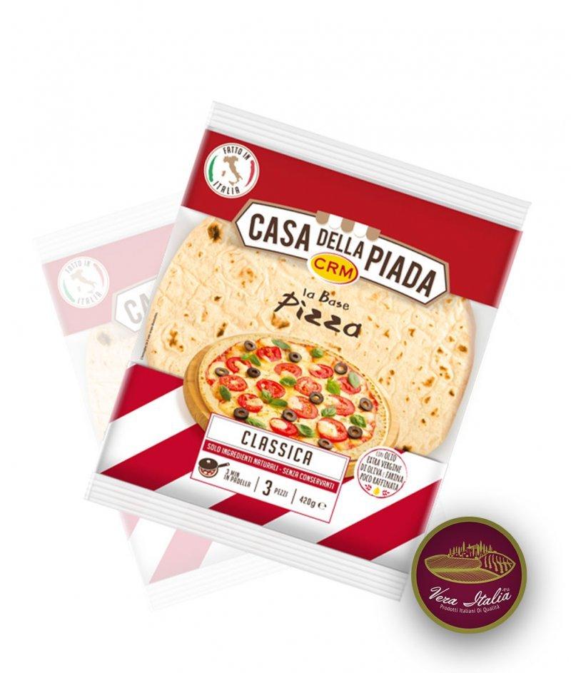 База за Класическа Пица 3 бр. - 420 g - Casa della Piada