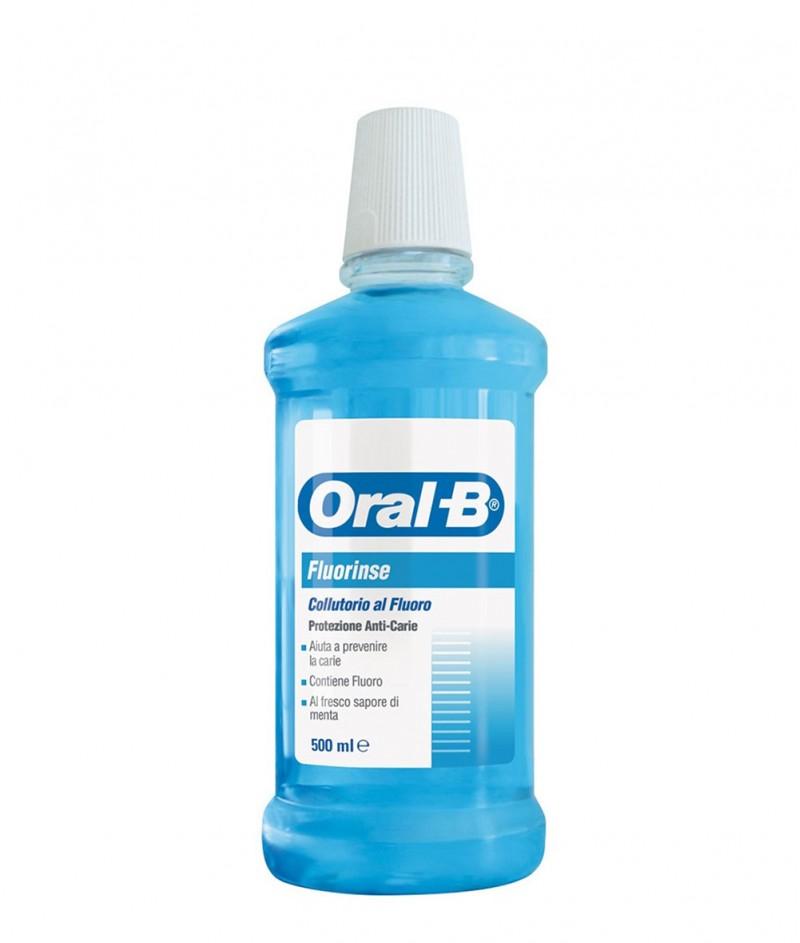 Вода за Уста AZ Collutorio Oral-B Fluorinse  - 500ml