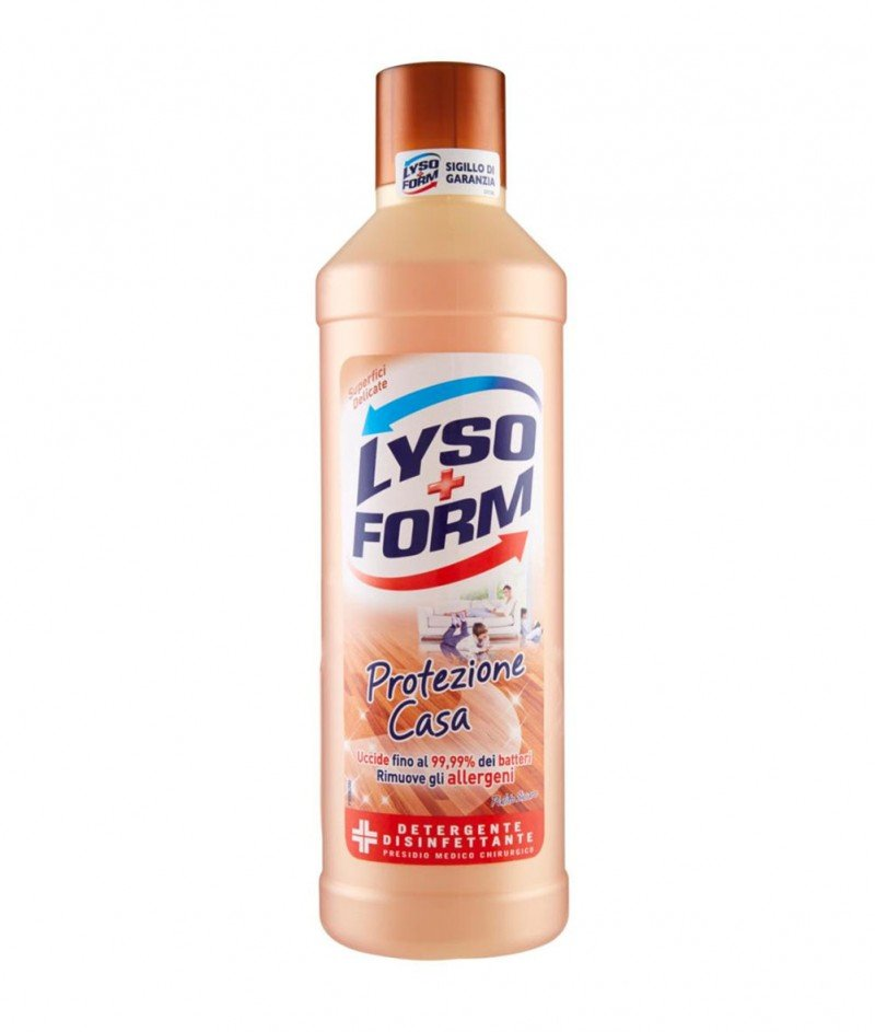 Lysoform Protezione Casa - Препарат за Под за Деликатни (Дървени) Повърхности - 1250 ml.