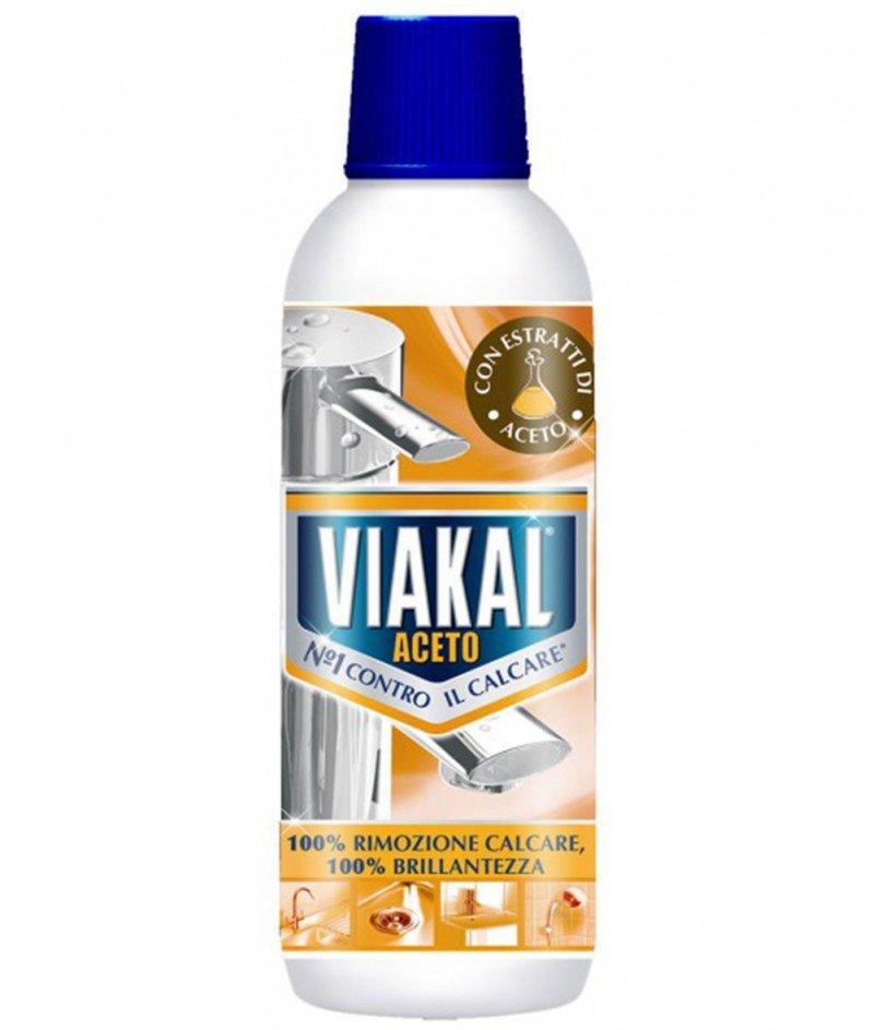 Viakal Aceto - Препарат с Оцет за Отсраняване на Котлен Камък - 700ml
