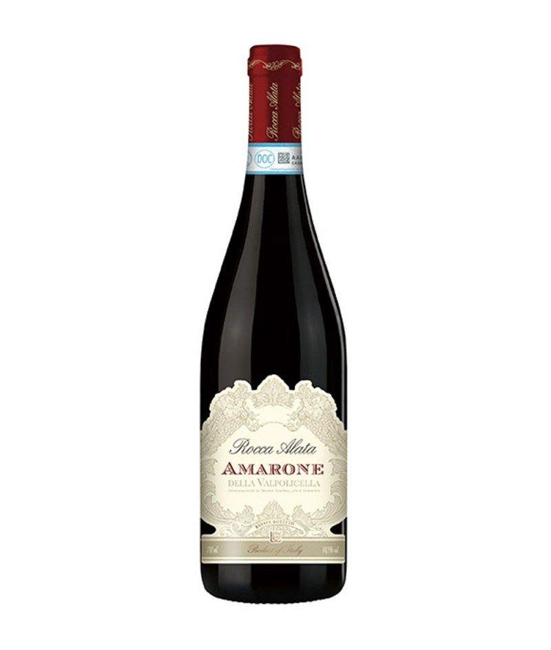 Amarone della Valpolicella Rocca Alata 2014 DOCG 750 ml – Cantina di Soave Sac - Амароне Червено, Негазирано, Сухо Вино