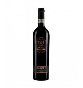 Barоlo 2013 DOCG 750 ml - Sette Cascine – Бароло Червено, Сухо Негазирано Вино