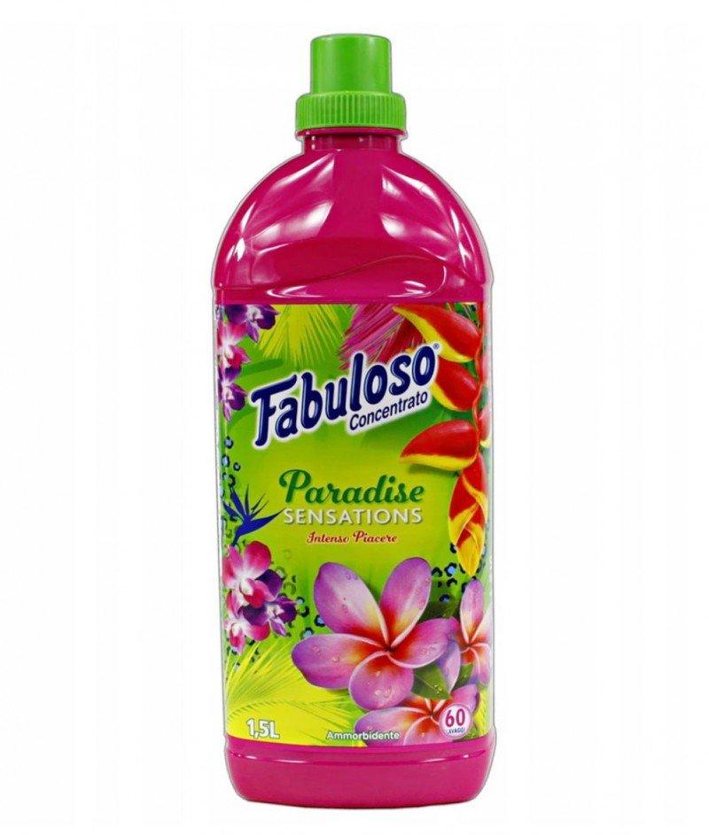 "Концентриран Омекотител Fabuloso ""Райско усещане"" 1500 ml - 60 дози"