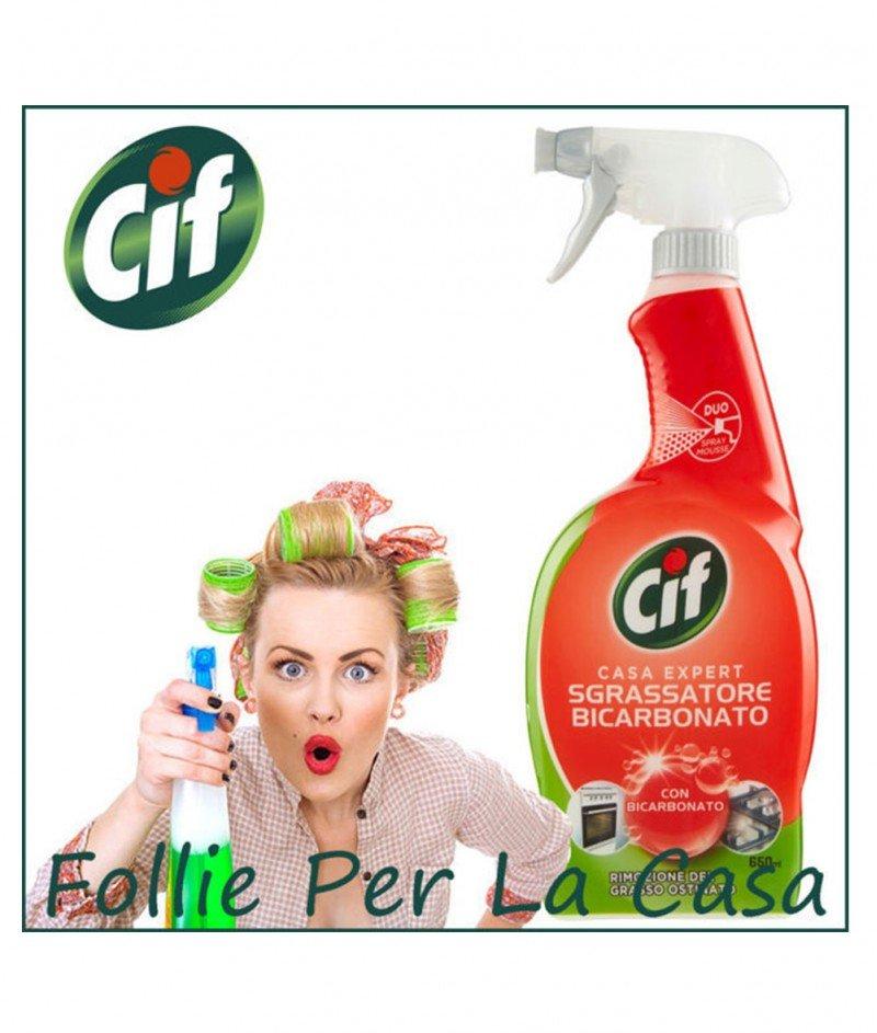 Обезмаслител с Бикарбонат Cif - 900 ml.