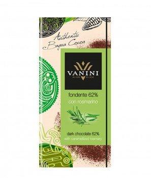 Тъмен Шоколад Vanini 62% Какао с Розмарин Gluten Free 100 g – Icam