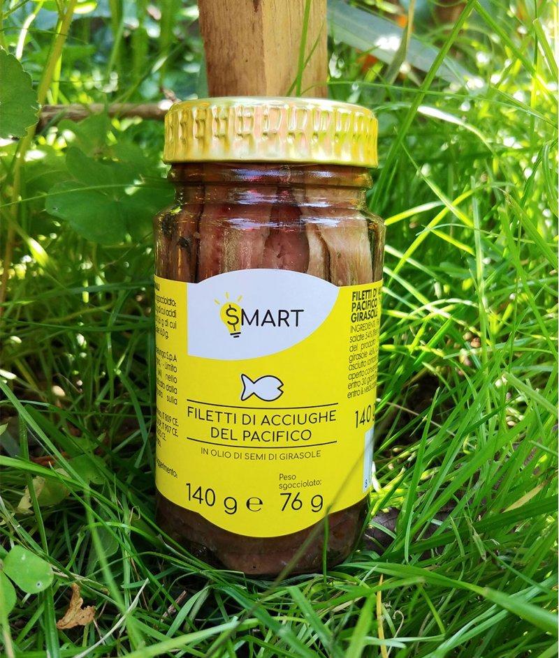 Филета от Тихоокеанска Аншоа Gluten Free 140 g - Esselunga