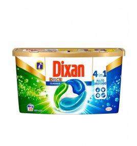 Капсули Перилен Препарат Dixan DISCS 4в1 Цветни Дрехи 625 g - 25 дози