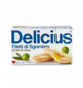 Филета от Скумрия в Зехтин Gluten Free 90 g - Delicius