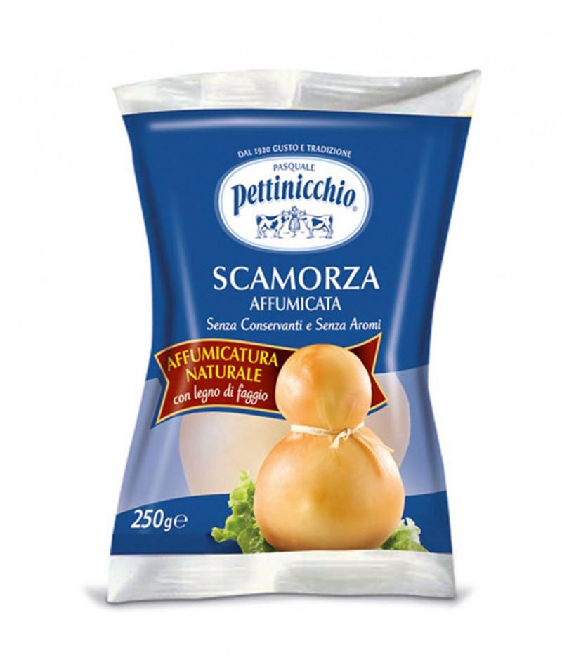 Натурално Пушено Сирене Скаморца (Scamorza Affumicata) Pettinicchio 250 g - Granarolo