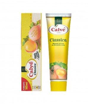 Майонеза Calvé (Калве) Класическа в Туба Gluten Free 185 ml/176 g – Unilever Italia 1898