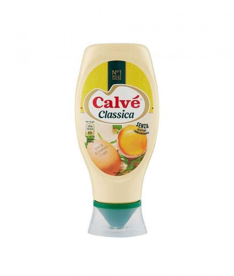 Майонеза Calvé (Калве) Класическа в Туба Gluten Free 400 ml / 380 g – Unilever Italia 1898