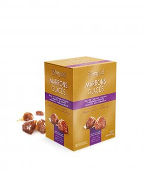 Marrons Glacés - Кестени със Захарна Глазура 280 g - Vergаni