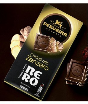 Тъмен Шоколад Nero с Джинджифилови Кристали  Gluten Free 85 g – Nestlè Italiana