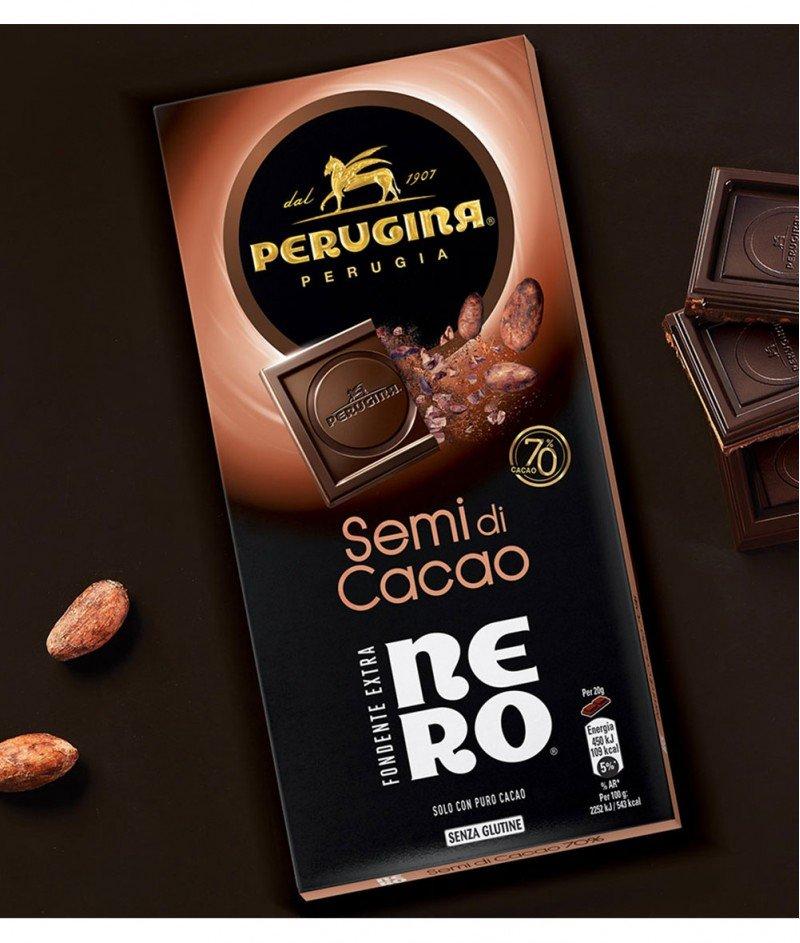 Тъмен Шоколад Nero 70% Какао и Какаови Семена  Gluten Free 85 g – Nestlè Italiana