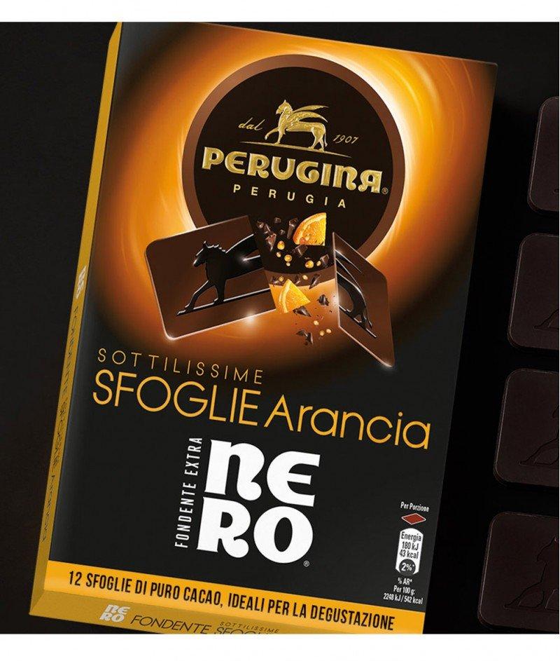 Тъмен Шоколад Nero от 12 Листенца с Портокал  Gluten Free 96 g – Nestlè Italiana