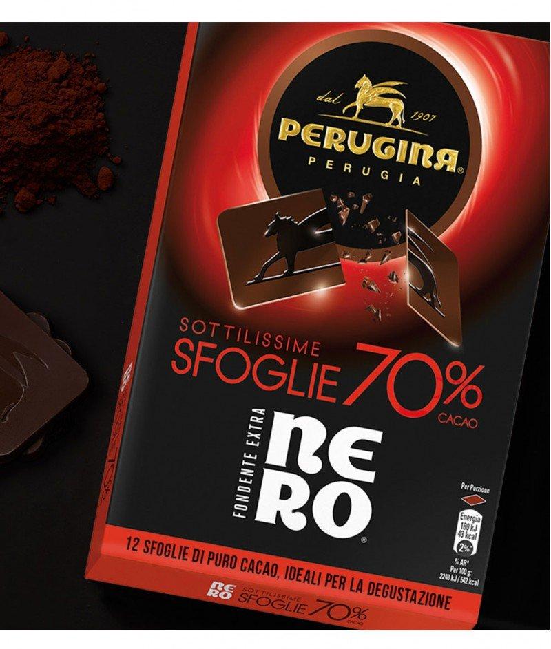 Тъмен Шоколад Nero от 12 Листенца 70% Какао  Gluten Free 96 g  – Nestlè Italiana