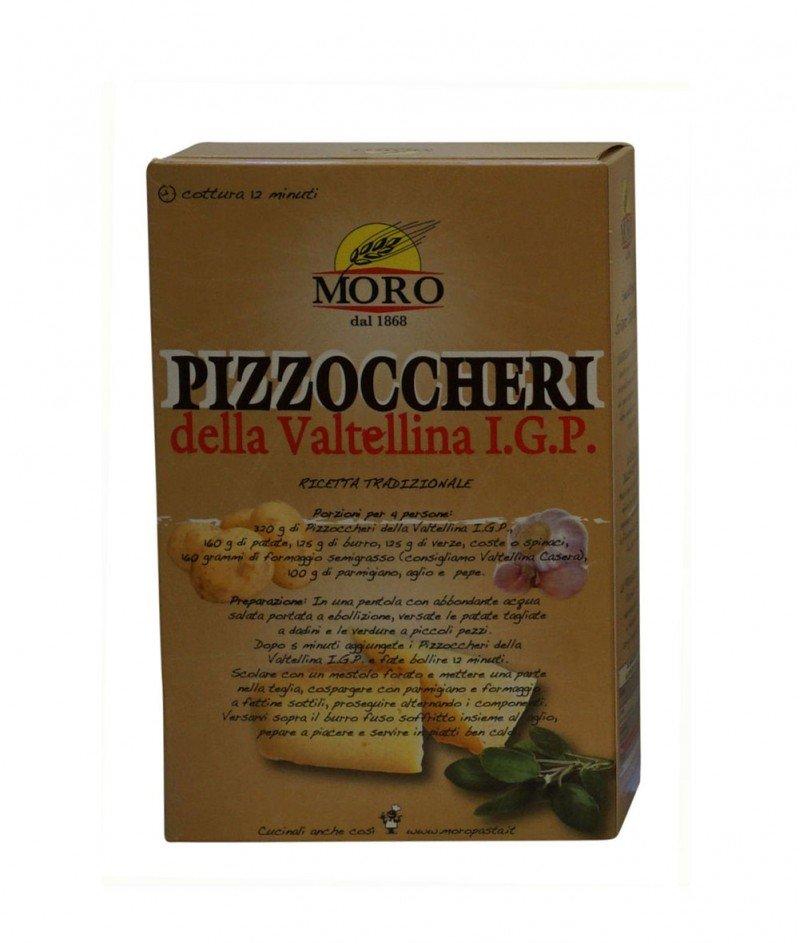 Пицокери от Валтелина IGP - Паста с Елда 700 g - Moro 1868