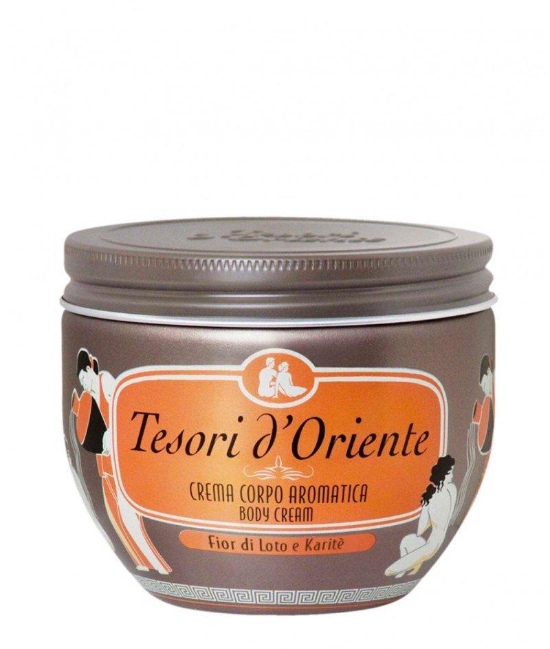 Крем за Тяло ,,Цвят от Лотос'' 300 ml – Tesori d'Oriente