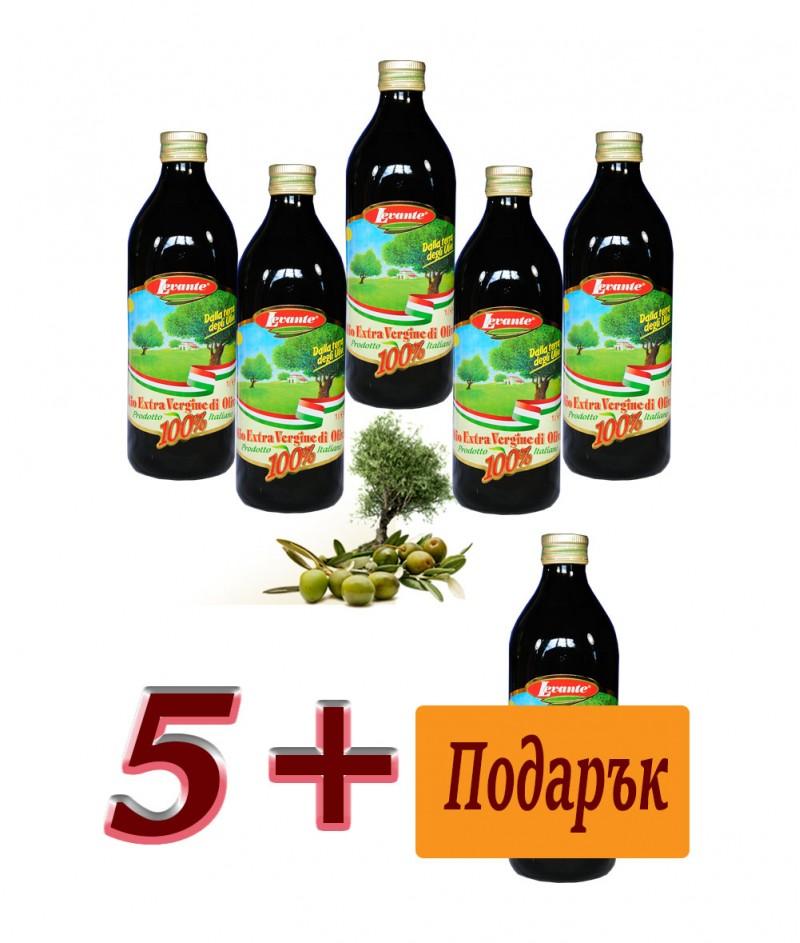 Пакет Зехтин Екстра Върджин Деликатен 100% Италиански 6000 ml  - BioLevante