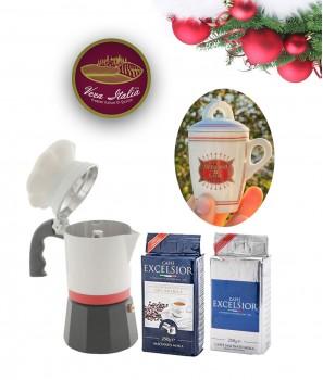 Коледен Пакет ''Кафе Мания'' 3 Продукта + 1 Подарък - Vera Italia