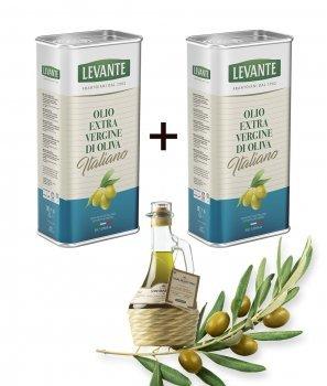 Пакет Зехтин Екстра Върджин 100% Италиански 2x3000 ml + 1 Специална Селекция ,,San Martino'' Нефилтриран 250 ml - BioLevante
