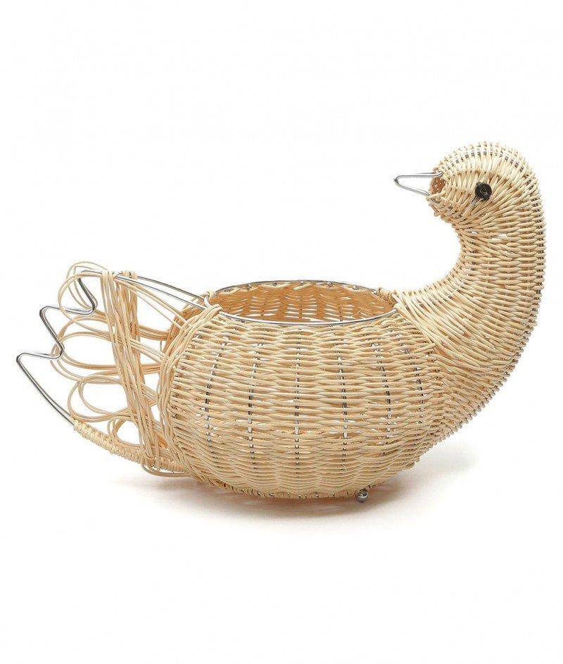 Хромирана Кошница за Яйца ,,Гъска'' - Kasanova