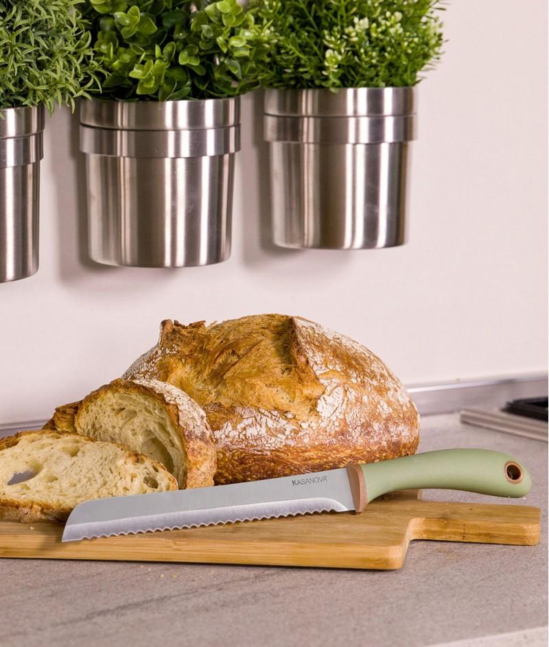 Нож за Хляб Линия Bio Nature 32.7 cm - Kasanova