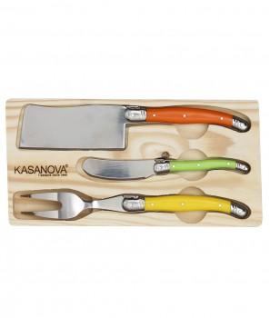 Три Ножа за Сирена в Дървена Кутия - Kasanova