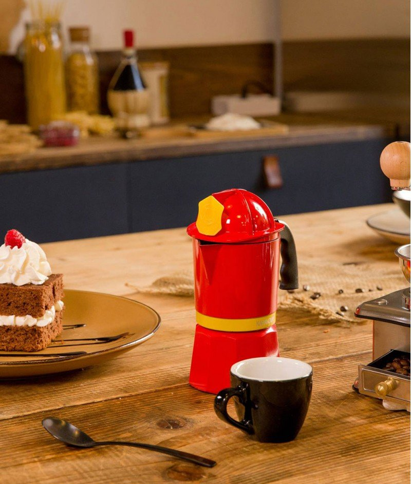 Кафеварка за 3 Кафета ''Пожарникар'' - Kasanova