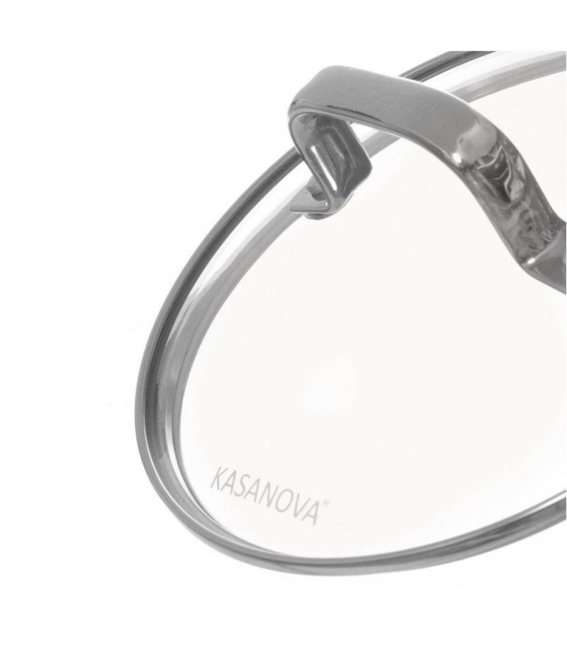 Касерола Капсула със Стъклен Капак Злато 16 cm - Kasanova