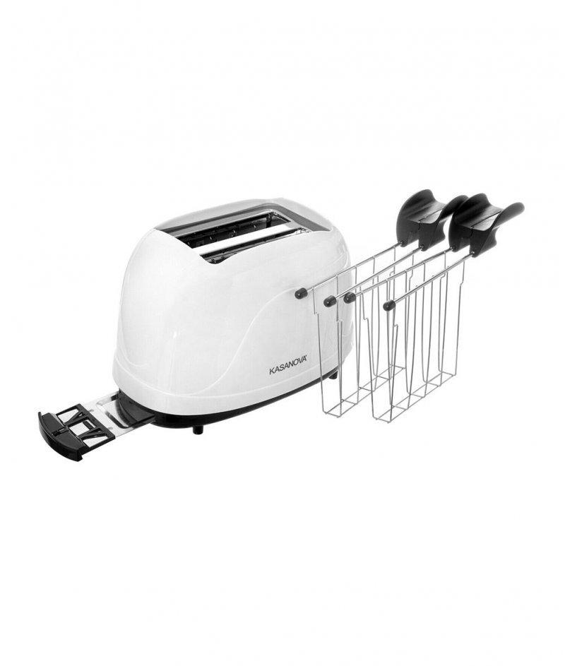 Тостер за Хляб с 2 Щипки 500W - Kasanova