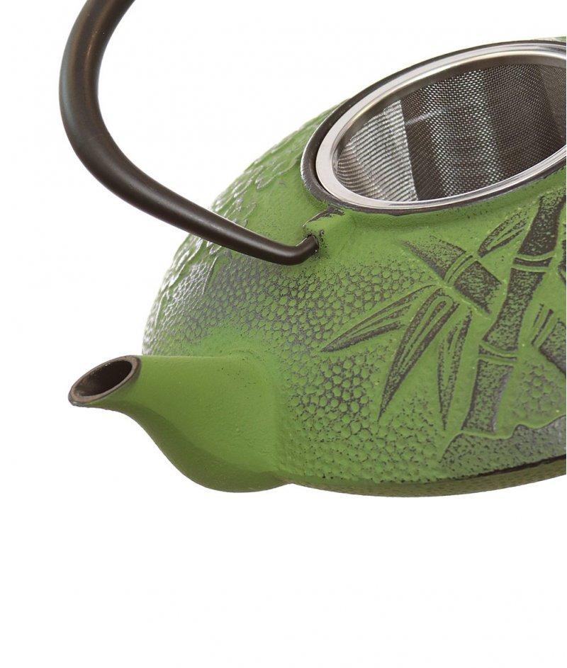 Чугунен Японски Чайник Бамбук  - Kasanova